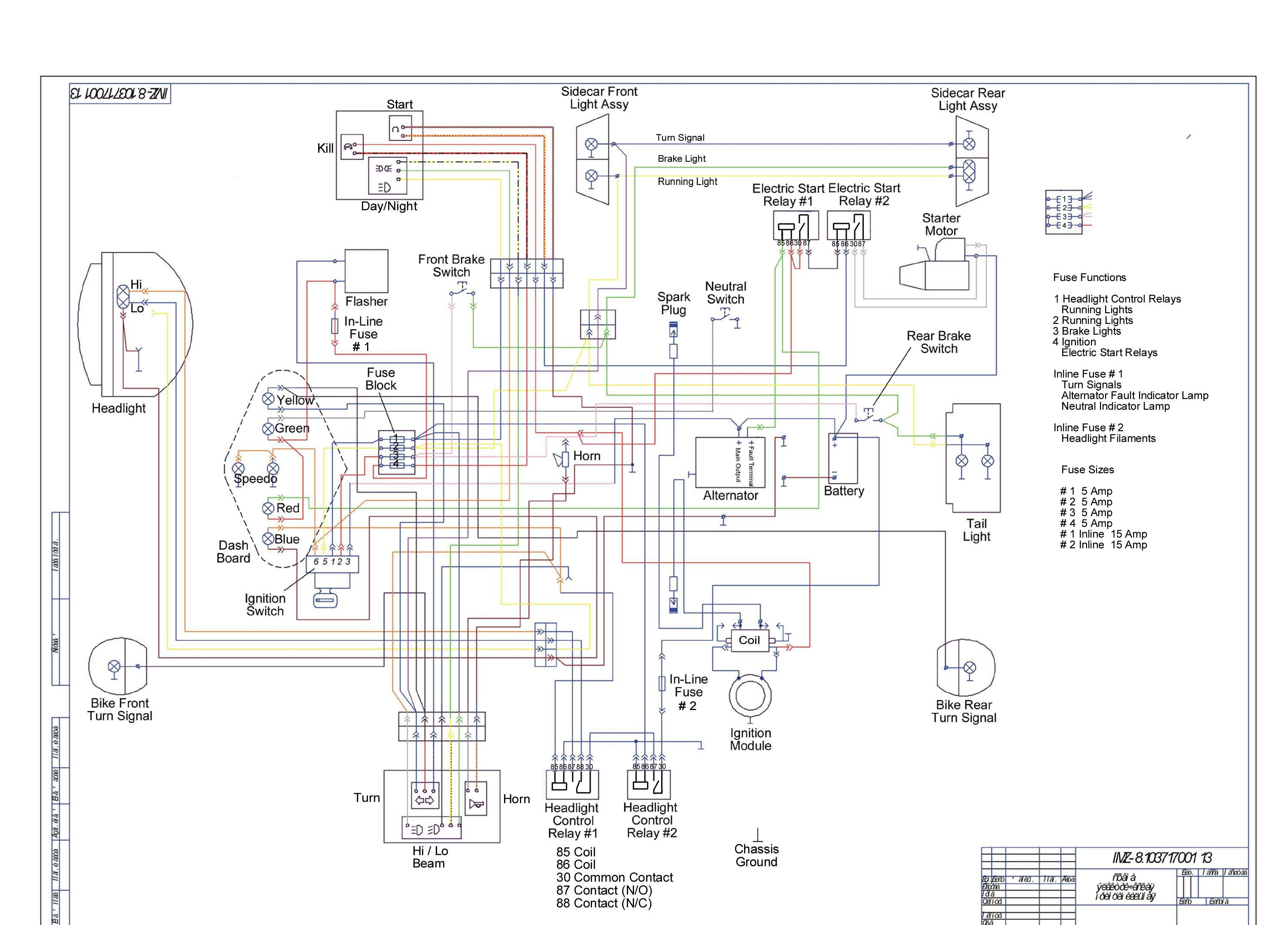 Ural Wiring Diagrams Diagram Data Yamaha 750 2002 750cc Schematic Parts
